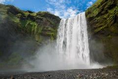 Skogafoss waterfall Stock Photography