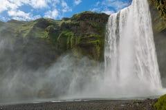 Skogafoss waterfall Royalty Free Stock Photo