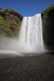 Skogafoss Waterfall Royalty Free Stock Photos