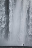 Skogafoss Waterfall Iceland Royalty Free Stock Photos