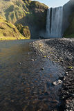Skogafoss waterfall , Iceland Royalty Free Stock Images