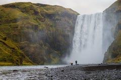 Skogafoss waterfall, Iceland Stock Image