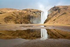 Skogafoss waterfall Iceland Royalty Free Stock Image