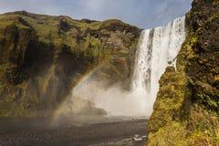 Skogafoss waterfall, Iceland Royalty Free Stock Photography