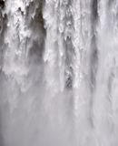 Skogafoss Waterfall in Iceland Stock Photo