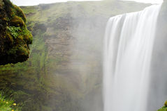 Skogafoss waterfall, Iceland Royalty Free Stock Images