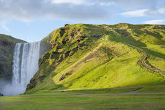The Skogafoss waterfall in the south of Iceland Royalty Free Stock Photo