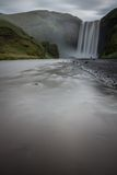Skogafoss waterfalls Stock Photo