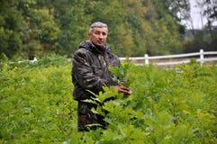Skogarbetare i nursery_3 Royaltyfria Foton