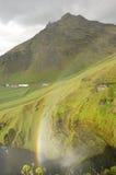 skogarfoss ландшафта Исландии Стоковое Фото