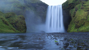 Skogarfoss Obrazy Royalty Free