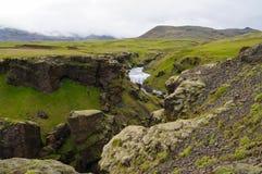 Skogarfoss,majestic waterfall,south of Iceland. Stock Photos