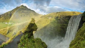 Skogarfoss waterfall, Iceland. Stock Image