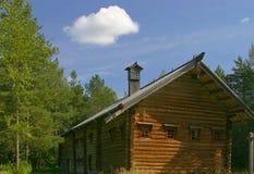 skoghus Arkivfoton