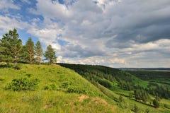 skogInner Mongolia park Arkivfoton