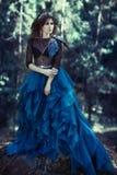 Skogkvinna Royaltyfri Fotografi