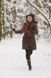 skogkvinnabarn Fotografering för Bildbyråer
