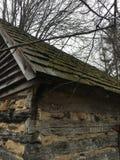 Skogs- kabin Royaltyfri Foto
