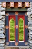 skogsbevuxet rockväggfönster Royaltyfria Foton