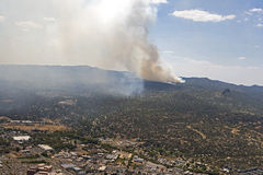 Skogsbrand Arkivbilder
