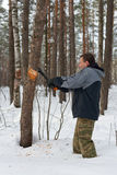 skogshuggare Royaltyfria Bilder