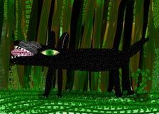 skogwolf Royaltyfri Fotografi