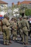 Skojarzenie pojazd wojskowy parada Zdjęcie Stock