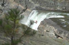 Skok do wody Obraz Royalty Free