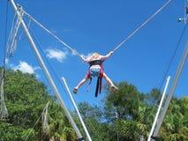 skok na bungee Fotografia Stock