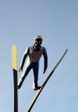 skok na nartach Obraz Stock