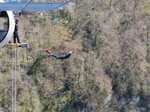 Skok od mosta, Sochi Obrazy Stock