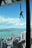 Skok od nieba wierza, Auckland, Nowa Zelandia zdjęcie stock