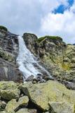 Skok siklawa, Wysoki Tatras w Sistani Obraz Stock