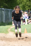skok tęsk biegający Zdjęcie Royalty Free