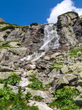 Skok vattenfall Arkivbild