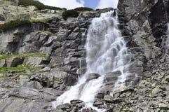 Skok vattenfall, höga Tatras i Slovakien Royaltyfria Foton