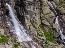 Skok vattenfall, Slovakien Royaltyfri Foto