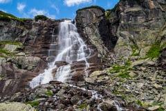 Skok vattenfall, Slovakien Royaltyfri Bild