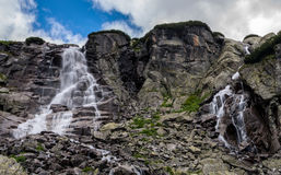 Skok vattenfall, Slovakien Royaltyfri Fotografi