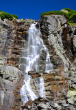 Skok waterfall in High Tatras mountains Royalty Free Stock Image