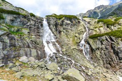 Skok waterfall, High Tatras in Slovakia Royalty Free Stock Photos