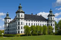 Skokloster巴落克式样城堡 免版税库存图片