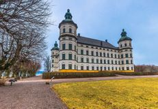 Skokloster, Швеция - 1-ое апреля 2017: Дворец Skokloster, Швеция стоковые изображения rf