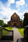 Skokloster kyrka royaltyfria foton