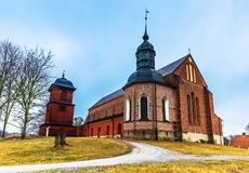 Skokloster, Suède - 1er avril 2017 : Église de Skokloster, Suède Image libre de droits