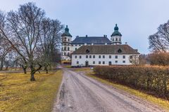 Skokloster, Suède - 1er avril 2017 : Palais de Skokloster, Suède Images stock