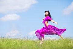 skokowa kobieta fotografia royalty free
