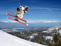 skokowa narciarka Fotografia Royalty Free