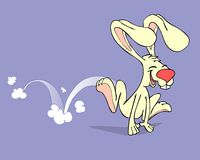skokowy królik Fotografia Stock