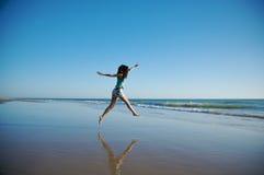 skoku morze Zdjęcia Royalty Free